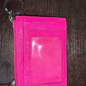 Coach Accessories - COACH keychain coin purse with ID window